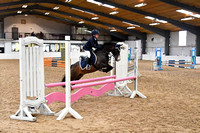 Class 17 - Indoor - Stepping Stones 128 138cms Handicap (0.75m - 0.85m)