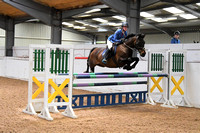 Class 20 - Indoor - Pony Foxhunter  1.10m Open (Both inc The Restricted Rider 1.10m Championship) - First Round (1.10m)