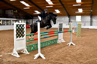 Class 21 - Indoor - National Pony 1.15m Members Cup Championship Qualifier - First Round (1.15m)